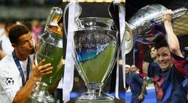 Alguns dos maiores vencedores da história do futebol. Goal