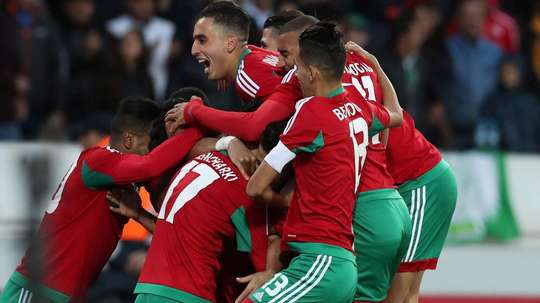Chan 2018 Morocco v Namibia. GOAL