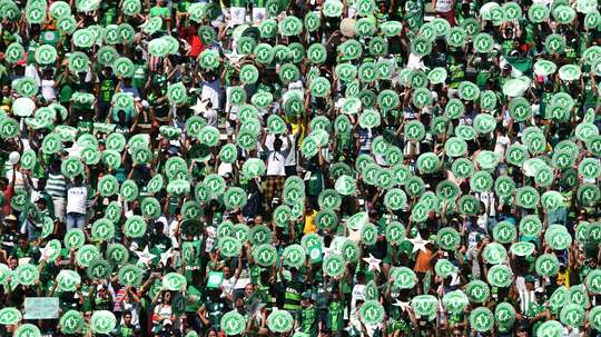 Chapecoense fans. Goal