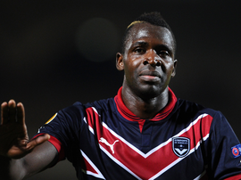 Cheikh Diabate lors d'un match de Ligue 1, alors sous le maillot de Girondins Bordeaux. Goal