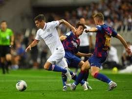 Le Barça s'incline face à Chelsea (1-2) pour son premier match de préparation. AFP