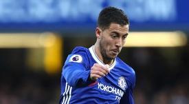 Hazard is the new star. Goal