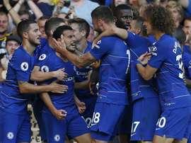 Quarta vittoria per il Chelsea. Goal