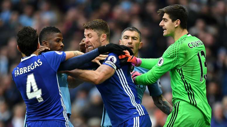 Chelsea have been fined for their brawl against Man City. Goal