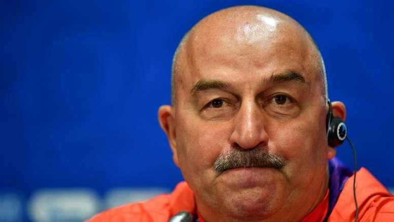 Russian coach Cherchesov is optimistic ahead of the World Cup. GOAL