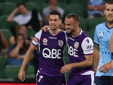 Perth Glory had Chianese to thank for extending their lead at the top. GOAL