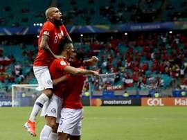 Le Chili se qualifie et met la pression sur l'Uruguay. Goal