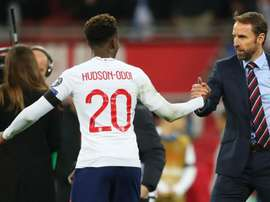 Hudson-Odoi supports England team stance on racist abuse. Goal