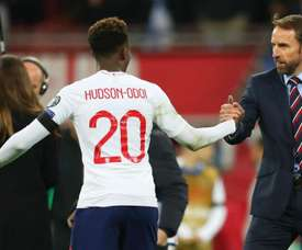 Hudson-Odoi supports England team stance on racist abuse. Goal