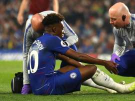 Hudson-Odoi says his season is over. Goal