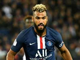 Choupo-Moting had to go off injured in the loss to Reims. GOAL