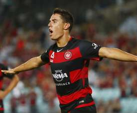 Chris Ikonomidis bagged a goal for Wanderers. GOAL