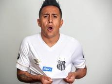 Contratado por R$ 26 milhões, Cueva não joga mais pelo Santos. Goal