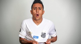 Cueva é anunciado pelo Santos e vestirá a '8' de Renato