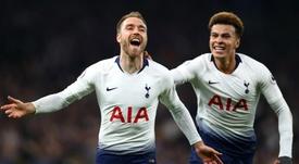 Alli: Tottenham will miss 'worldie' Eriksen. GOAL