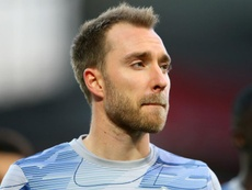 Eriksen arrives in Milan ahead of Inter move