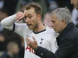 Mourinho seccato per l'operazione Eriksen-Inter: Goal