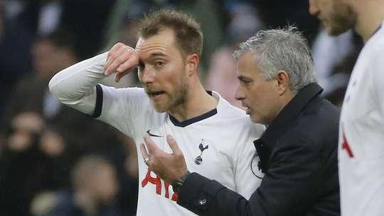 Christian Eriksen Jose Mourinho Tottenham