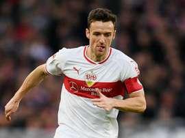 Christian Gentner Stuttgart. Goal