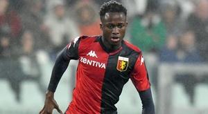 L'attaccante ivoriano del Genoa, ex Cittadella, Kouamé. Goal