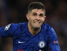 Chelsea, Lampard exige beaucoup plus de Pulisic. AFP