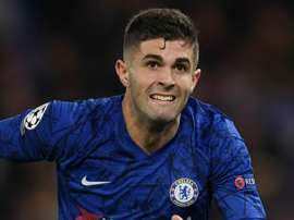 Chelsea, Lampard exige beaucoup plus de Pulisic. AFP
