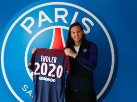 Christiane Endler s'engage trois ans avec le PSG. PSG