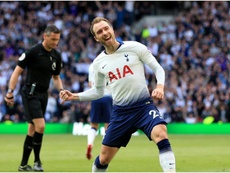 Eriksen scored the 1,067th of the Premier League. GOAL