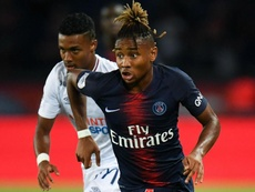 Christopher Nkunku PSG Caen Ligue. GOAL