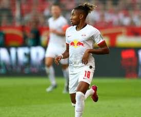 Nkunku prend plus de plaisir en Bundesliga. AFP