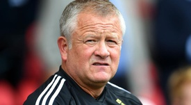 Chris Wilder knows he has got a tough challenge ahead of him against Liverpool. GOAL