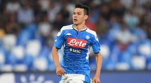 Chucky Lozano, a arma do Napoli que desafia o Liverpool. GOAL