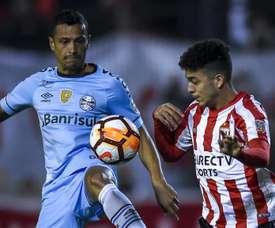Cicero Lucas Rodriguez Estudiantes Gremio Copa Libertadores. Goal