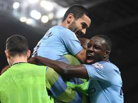 Gundogan finished off a brilliant move from City. GOAL