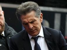 Claude Puel sceptique sur la Coupe de France. AFP
