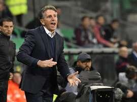 Claude Puel : 'Le PSG, une équipe formatée pour gagner la C1'. AFP