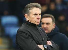 Puel was not happy with the decision to send of Wilfred Ndidi. GOAL