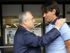Lotito vago sulle indiscrezioni su Inzaghi. Goal