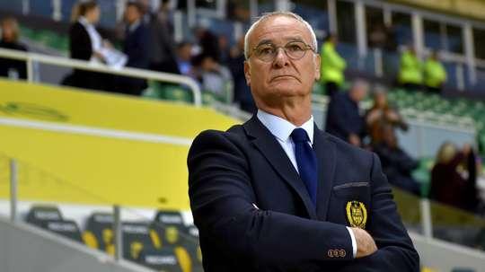 L'entraîneur de Nantes s'est exprimé sur le refus de Moura. Goal
