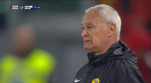 Splendido omaggio dell'Olimpico, Ranieri in lacrime. Goal