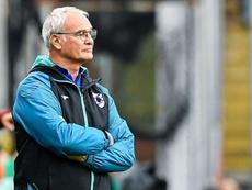 Ranieri débute par un nul avec la Sampdoria. AFP