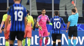 Substitute Bravo makes unwanted history with Champions League red card. GOAL