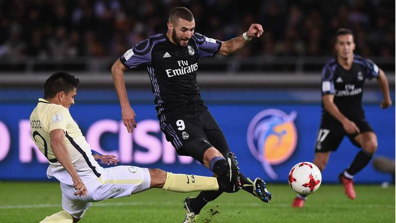 Karim Benzema was one of the stars of the match. Goal