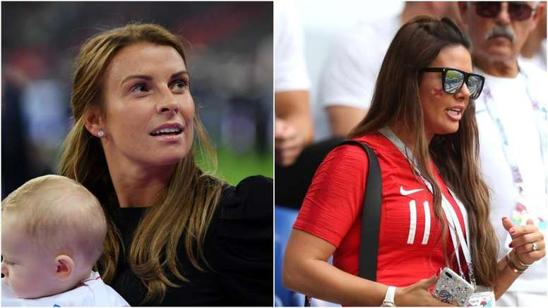Coleen Rooney and Rebekah Vardy embroiled in Twitter row. GOAL