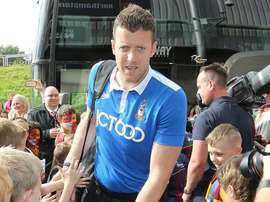 Colin Doyle showed his dedication to the Bradford cause. GOAL
