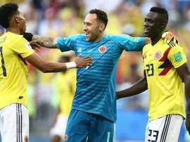 Ospina has the experience. GOAL