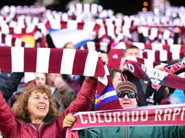 Colorado Rapids earned a draw in the match. GOAL