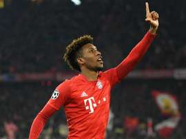Bayern Munich welcomed Kingsley Coman back into training. GOAL