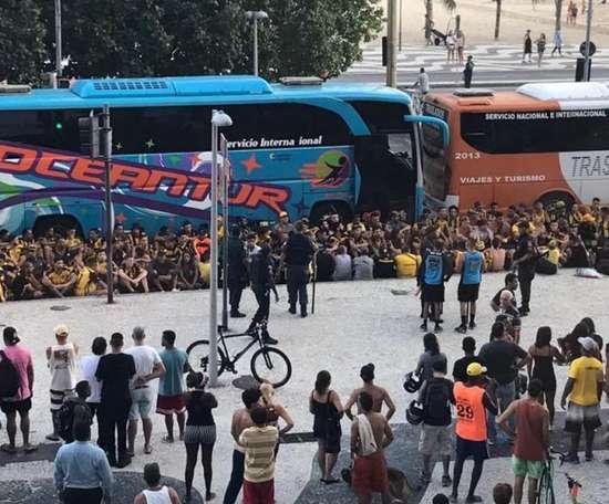 Flamengo x Peñarol: uruguaios envolvidos em confusão no Rio são indiciados pelo MP