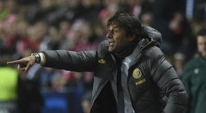 Conte relishing Barca showdown after Inter win in Prague
